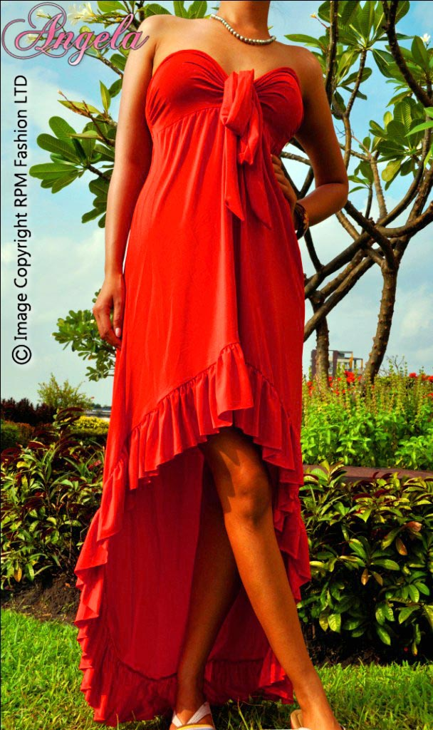 8117-Red High-Low Maxi Dress-Red High-Low Maxi Dress Sexy Long Turquois Maxi Dress bestselling maxi dress beautiful fashion luxury unique topselling designer printed solid 